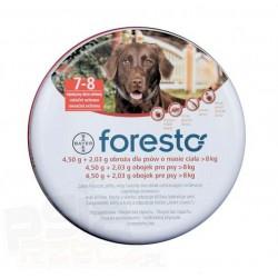 Bayer Foresto - obroża przeciw kleszczom, pchłom dla psów powyżej 8kg