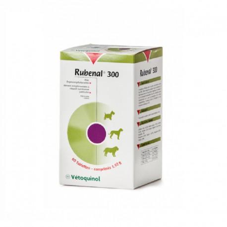 Vetoquinol Rubenal 300 - 60 tabl. - preparat wspomagający nerki psów