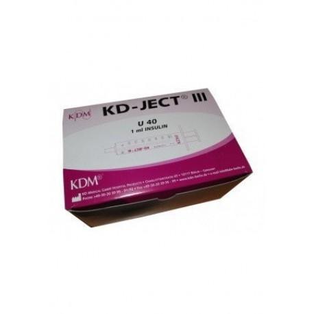 Strzykawka insulinowa KD-JECT III U40 1ml