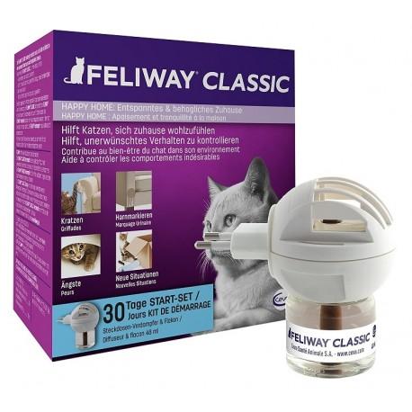 Feliway - zestaw - 48ml - dyfuzor z wkładem z kocimi feromonami