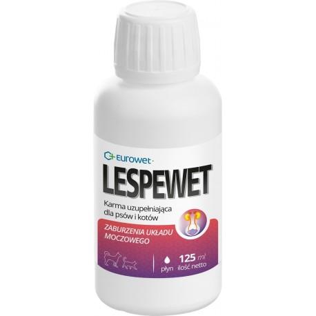 Eurowet Lespewet - 125ml - preparat wspierający układ moczowy psów, kotów