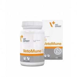 VetExpert VetoMune - 60 kaps. - preparat wspomagający odporność psów, kotów