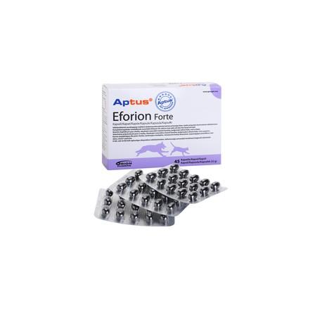 Aptus Eforion Forte - 45 kaps. - kapsułki dla psów, kotów