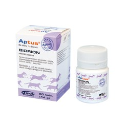 Aptus Biorion - 60 tabl. - preparat dla skóry, sierści
