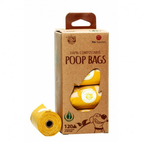 Pet Supplies Poop Bags BIO - 8x15 szt. - kompostowalne worki na odchody