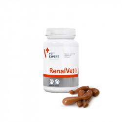 VetExpert RenalVet - 60 kaps. - preparat wspomagający nerki psów, kotów