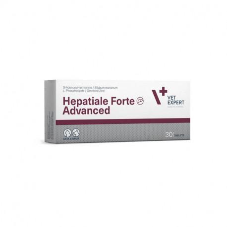 VetExpert Hepatiale Forte Advanced - 30 tabl. - preparat na wątrobę dla psów, kotów