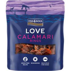 Fish4Dogs Love Calamari Rings - 75g - krążki z kalmarów dla psów