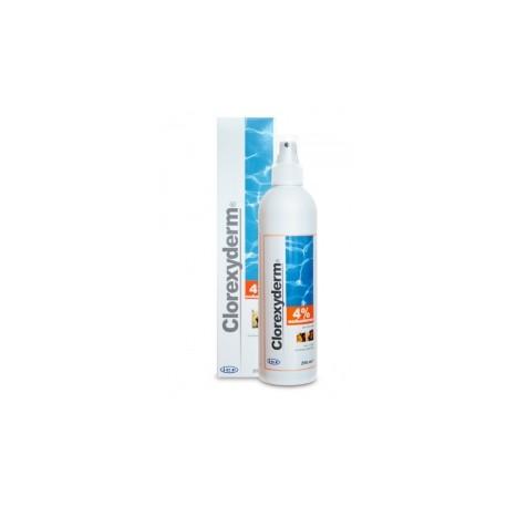 Geulincx Clorexyderm Spray 4% - 250ml - preparat bakterio- i grzybobójczy dla psów, kotów